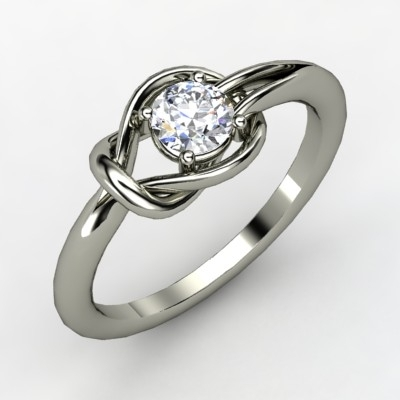 Hercules Knot Engagement Ring
