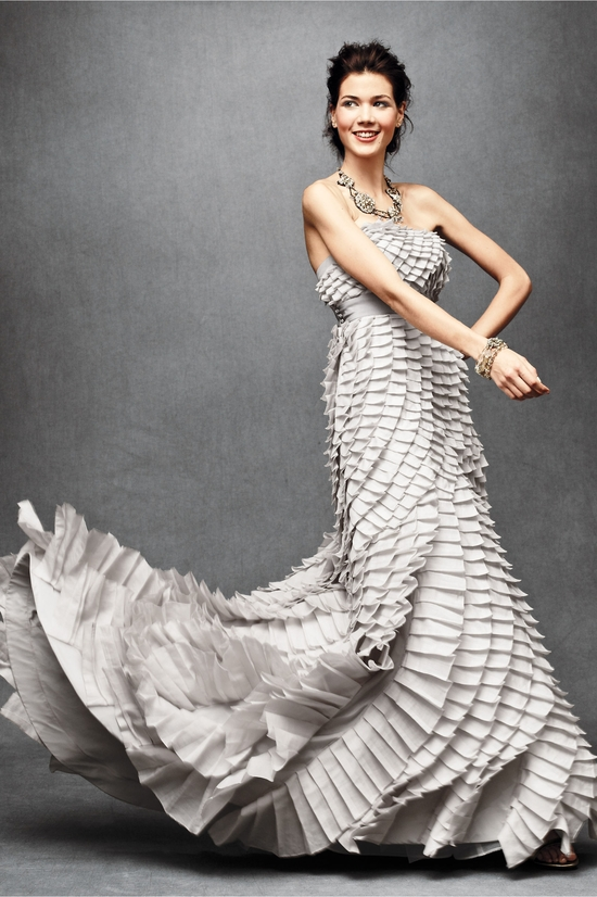 photo of Pleated Fantasy Gown
