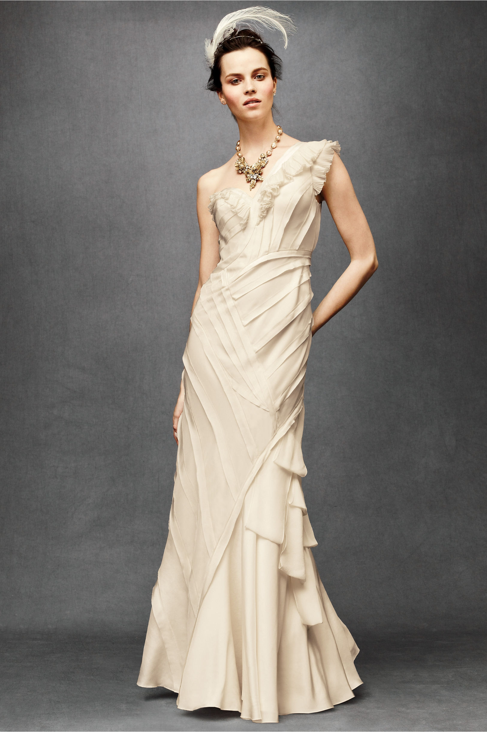 Ribboned-silk-wedding-dress-2011-bhldn-ivory-one-shoulder.original