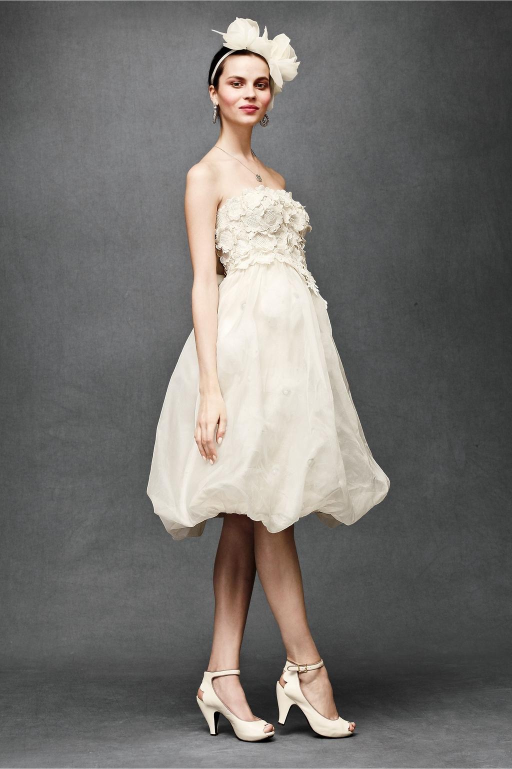 Floral-artwork-wedding-dress-2011-bhldn-knee-length-strapless.full