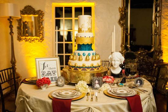 Marie Antoinette inspired tablescape by Meredith Events (Photo used with permission/Art | Photography by Sydney Rasch)