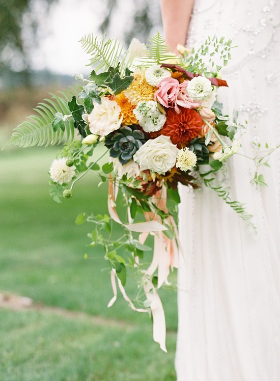 bridal bouquet by Vases Wild