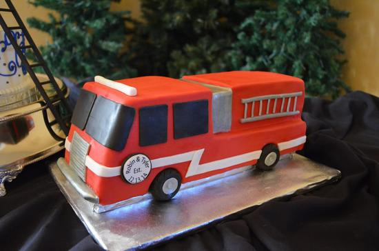 Groom's Fire Truck