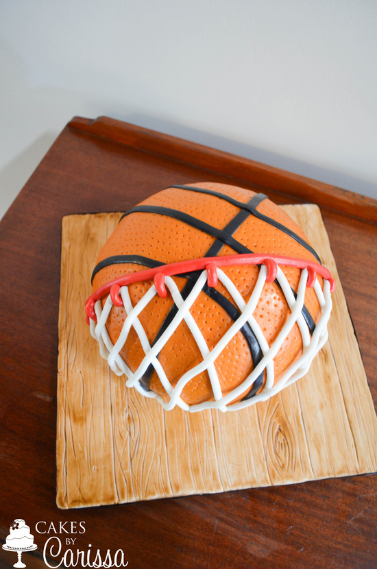 Basketball Groom's Cake