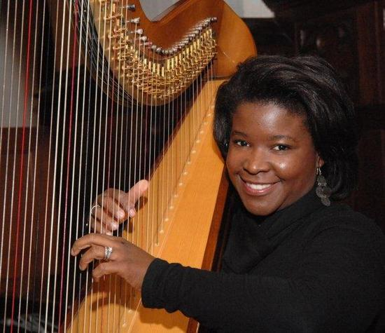 photo of Harpist Candace Lark