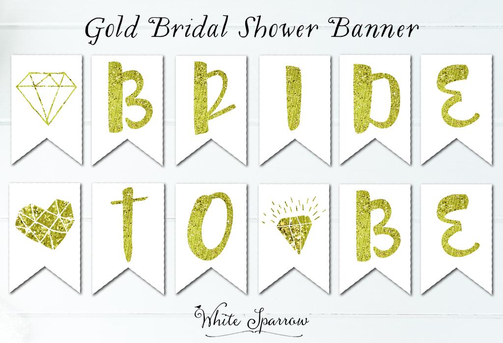 new gold bridal shower banner photo 01fulljpg
