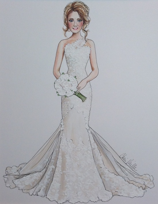 photo of Cheri Miller Art - Bridal Illustrations