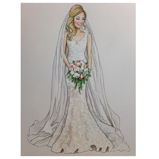 Bridal Illustration