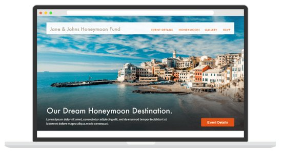 Register for your dream honeymoon!