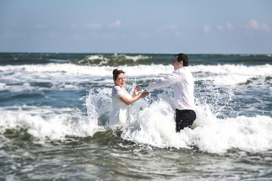 Trash the Dress, the Beach Session