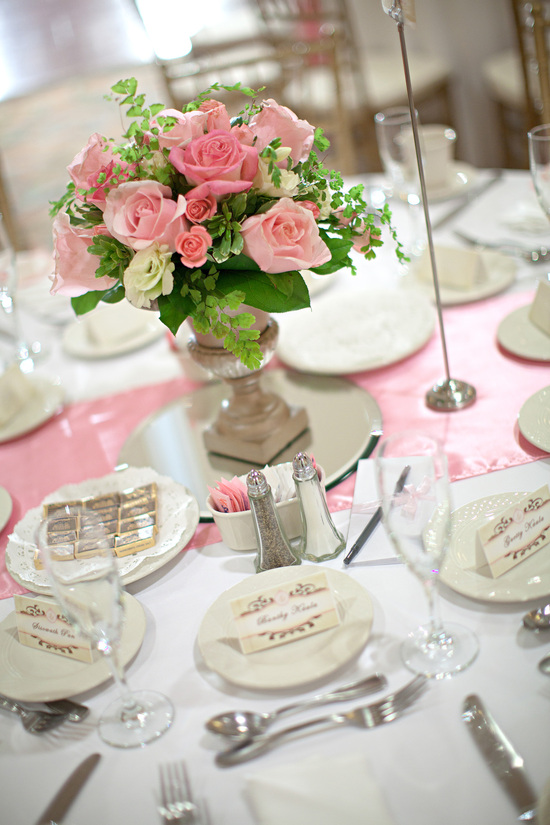 Fairy Tale Pink & Gold Wedding