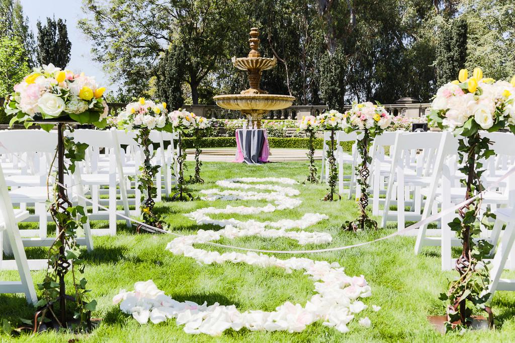 Beverly Hills Greystone Mansion Wedding