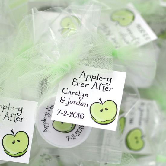 Apple-y Ever After Favors