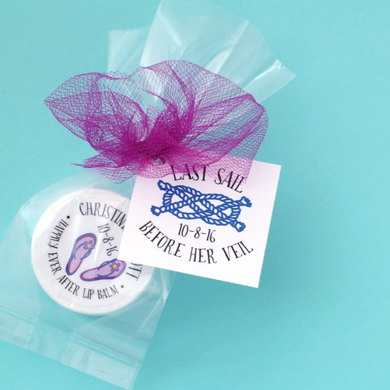 Nautical Last Sail Shower Favors