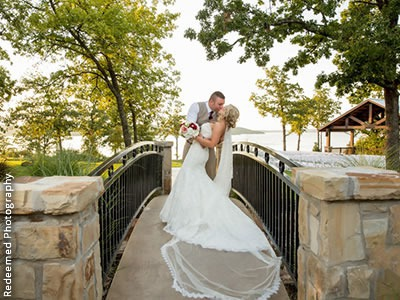 Bridge to Outdoor Ceremony Site