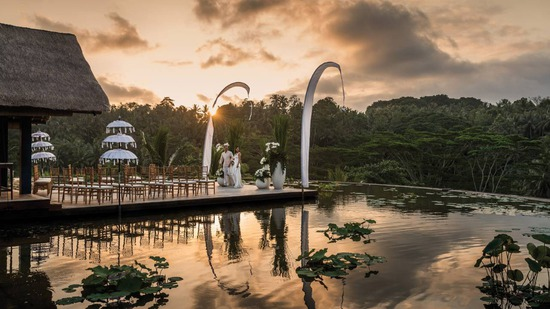 Jungle wedding in Ubud Bali, Bali Brides Wedding Planner