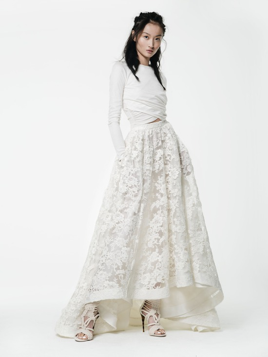 Houghton NYC McDowell Top and Macabeau Skirt