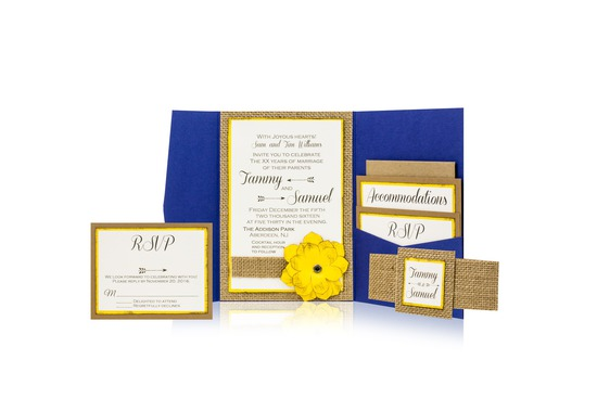 Spring Time Wedding Invitation