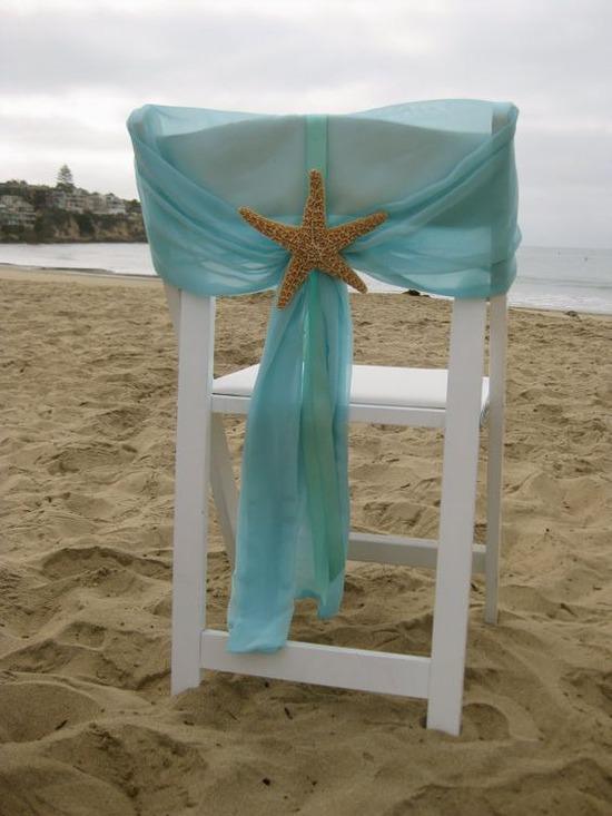 Starfish chairbacks