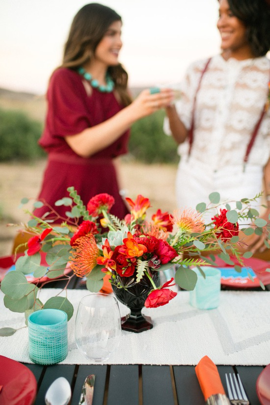 Desert Table Arrangement