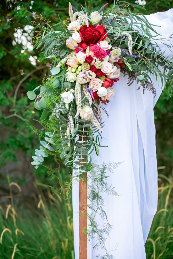 Wedding Arch Floral Decor