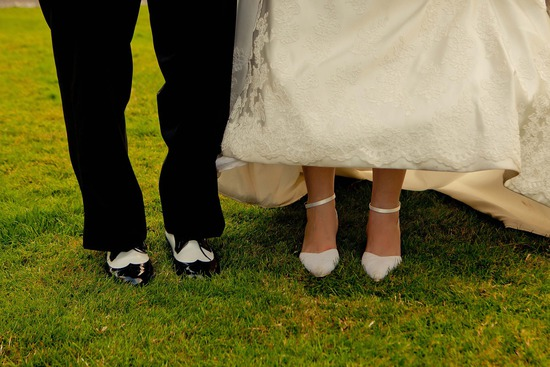 wedding photography creative shoes