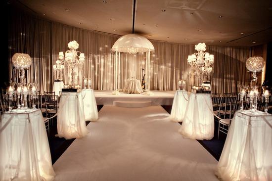 Indoor Ceremony Inspirations: Indoor Ceremony Site