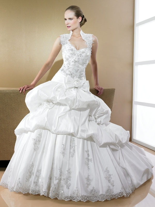 D7989-moonlight-bridal-2011-wedding-dress-ballgown-pickups-silver-beading-lace.full