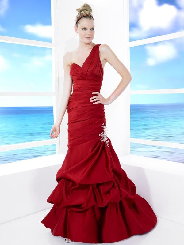 T483-red-one-shoulder-a-line-wedding-dress-drop-waist.full