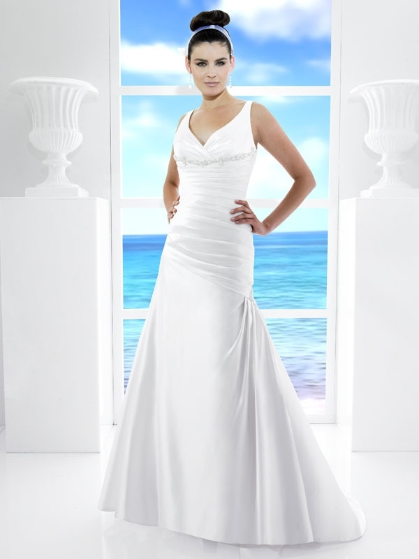 T480-white-satin-2011-wedding-dress-drop-waist-a-line-v-neck.full