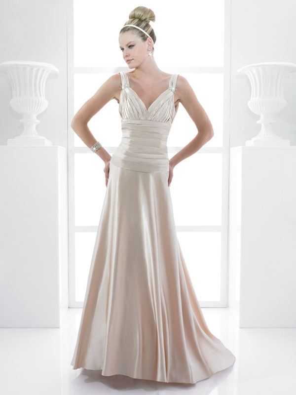 T475-champagne-satin-modified-a-line-wedding-dress-spring-2011-v-neck.full