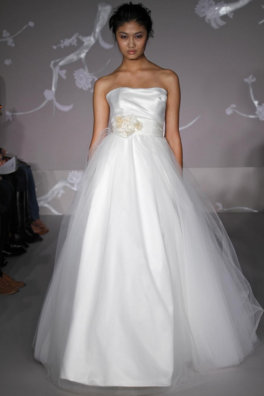 1101-spring-2011-white-ballgown-wedding-dress-blush-strapless-floral-applique.full