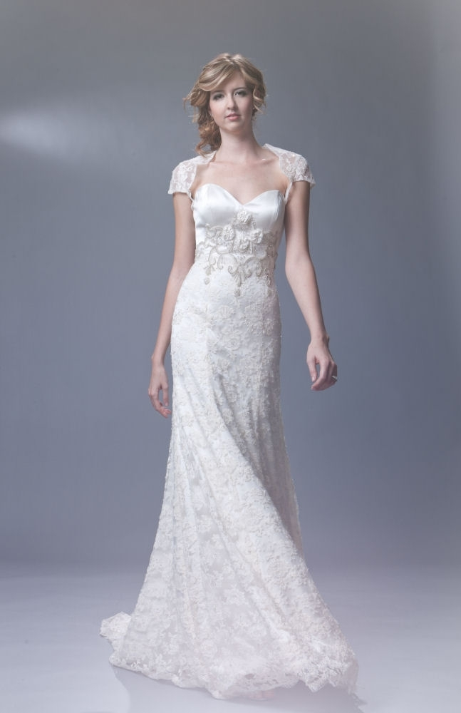 Sarah-houston.amelia-romantic-ivory-lace-wedding-dress-cap-sleeves-2011-front.full