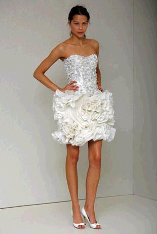 Jules-spring-2011-monique-lhuillier-wedding-dress-reception-short-mini-lace-beaded-corset-short-ruffle-skirt.full