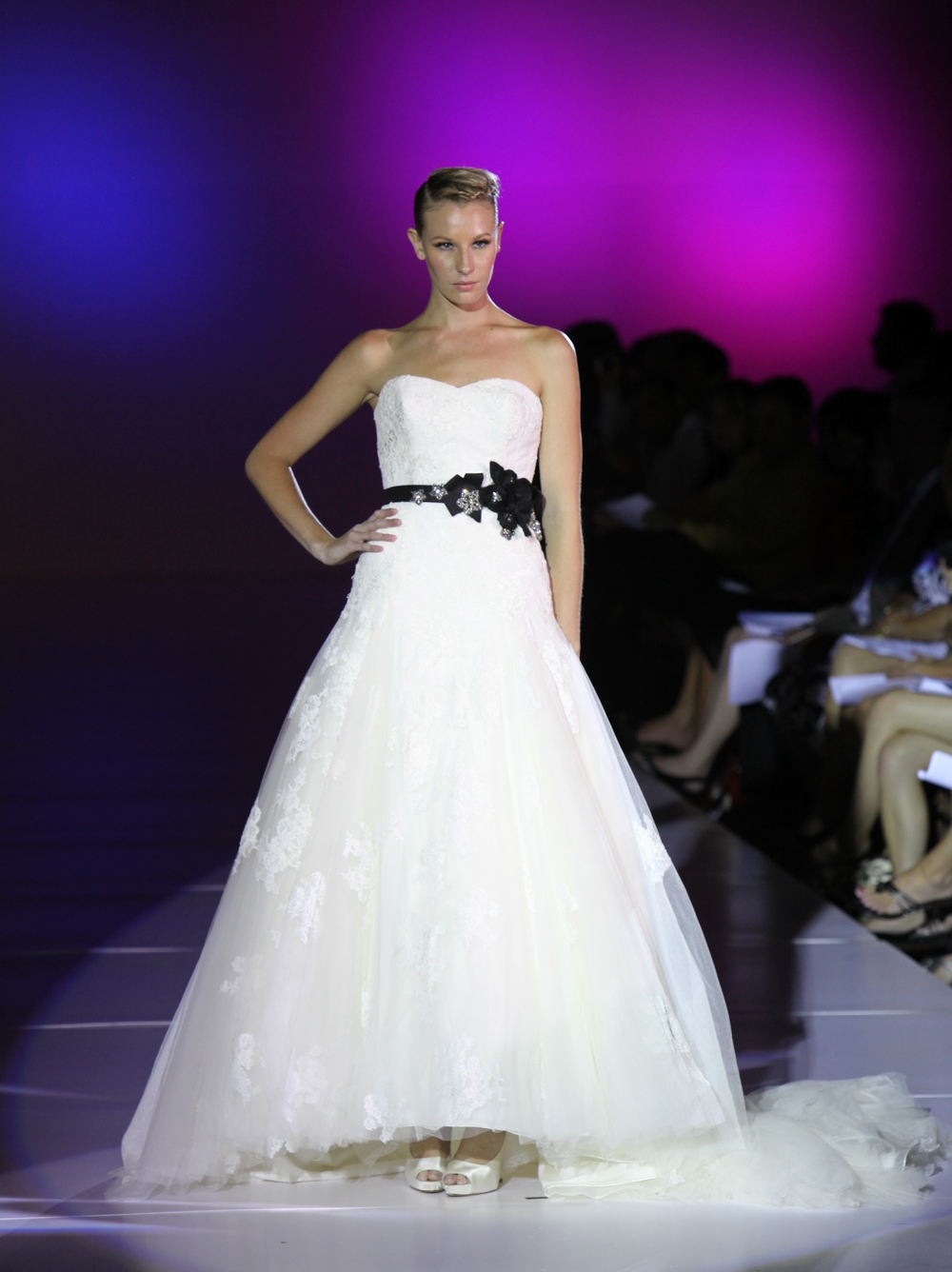 Blue-by-enzoani-dabra-spring-2011-wedding-dress-tulle-lace-ballgown-black-rhinestone-sash.original