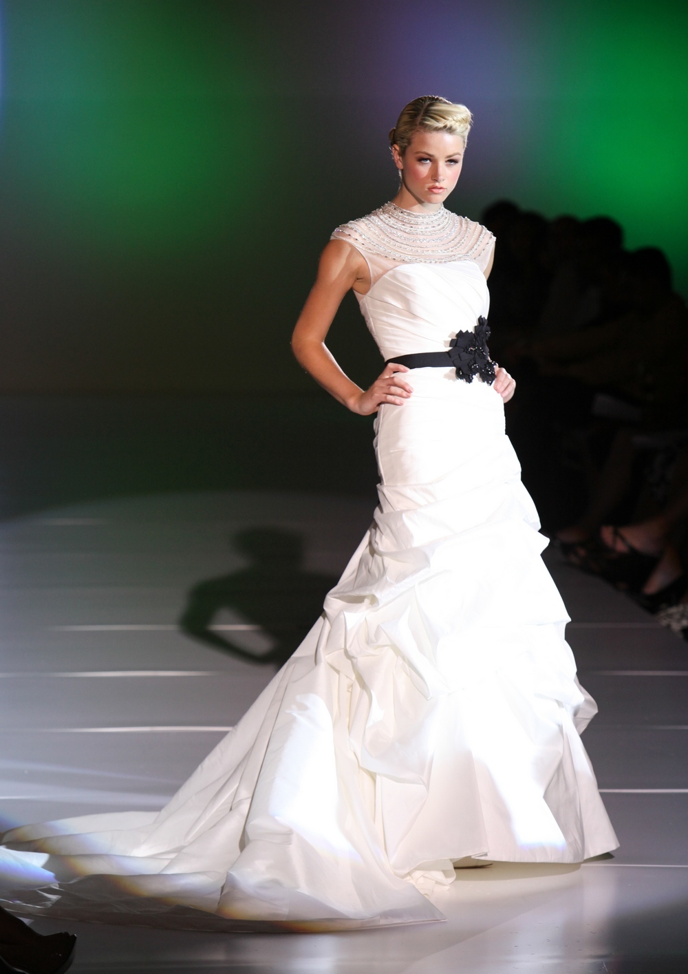 Enzoani-spring-2011-finnia-wedding-dress-drop-waist-illusion-top-black-bridal-belt.full