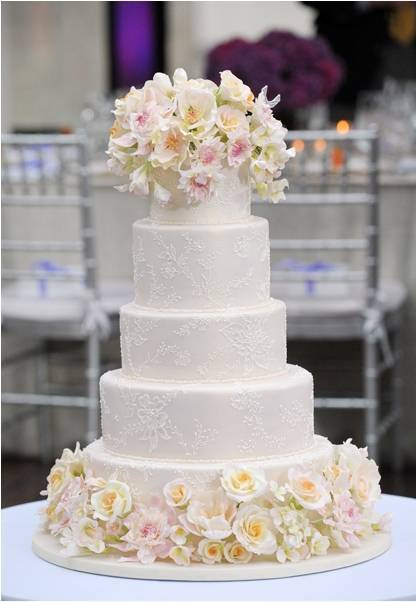 photo of Today Show Wedding Cake