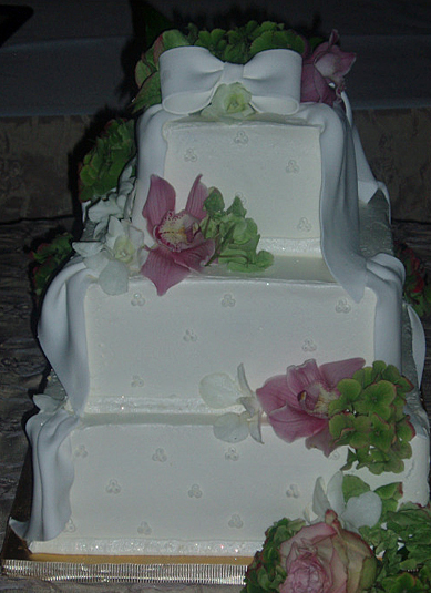 Springtime Three Tier
