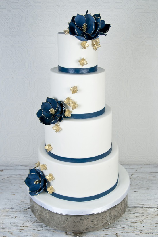 custom wedding cakes toronto navy on onewed 13246