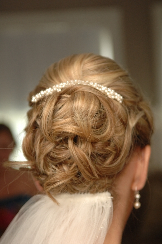 photo of Sleek Curly Updo