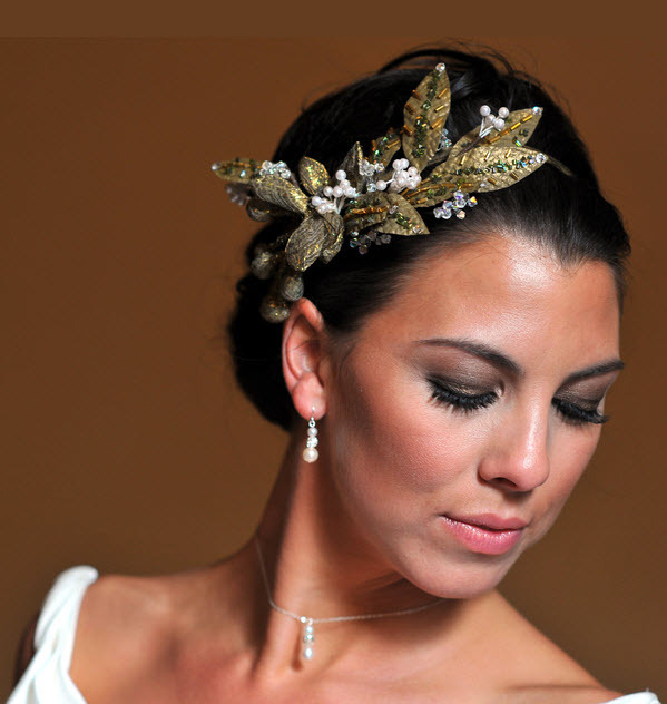 photo of Grecian Goddess Bridal Updo