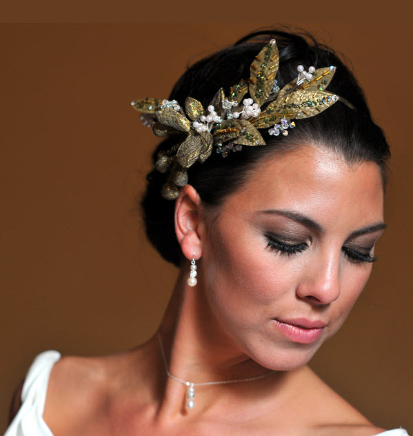 Bella-bridal-hairstyle-wedding-hair-updo-pulled-back-sleek-detailed-gold-pearl-bridal-hair-piece.original