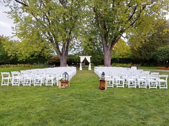 Kingsbrae Garden Saint Andrews Outdoor Wedding
