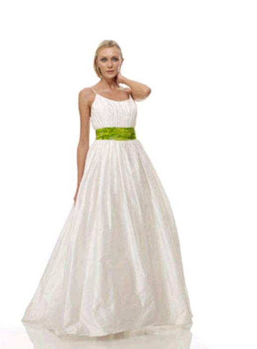 Eco Friendly Wedding Dress The Cotton Bride Strapless Princess Bridal Gown