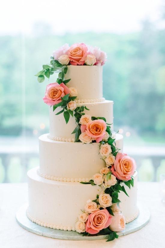 Ercream Frosting Wedding Cake