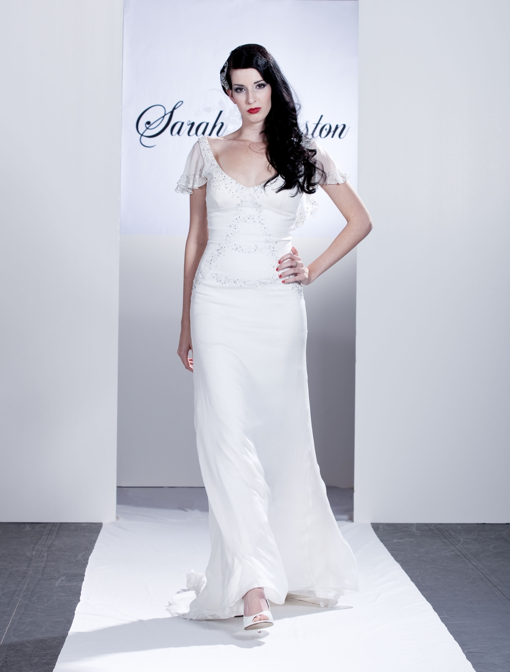 Grace-scoop-neck-fitted-wedding-dress-off-the-shoulder-sheer-sleeves-embroidery.full