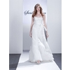 Alice-white-strapless-wedding-dress-floral-applique-ribbon-at-natural-waist-tulle-skirt.square