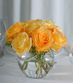 photo of Yellow Rose Centerpiece