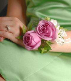 photo of Lavender Rose Corsage