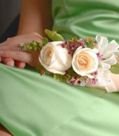 photo of White Rose Corsage